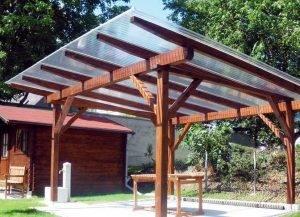 Крыша из поликорбаната: инструкция по монтажу для террасы и беседки