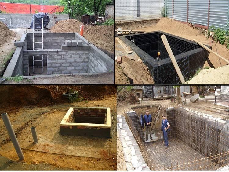 Можно ли строить погреб из пеноблоков