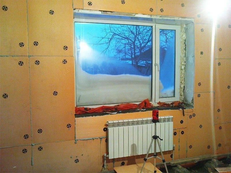 Утепление дома снаружи пенопластом - отзывы по утеплению стен из пеноблоков и кбб