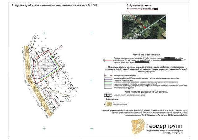 Оформление заявления на получение градостроительного плана земельного участка (образец)