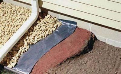 Преимущества и недостатки, рекомендации по возведению отмостки из гравия вокруг дома