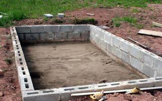 Какие блоки выбрать для строительства гаража