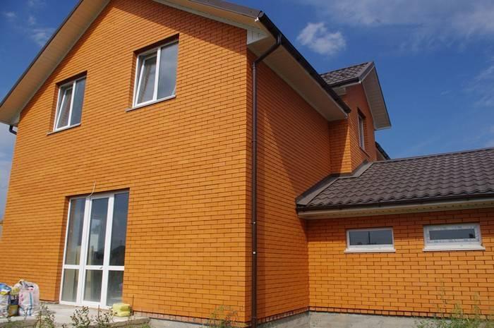 Облицовочный кирпич для фасада: варианты отделки частных одноэтажных и двухэтажных домов с помощью разных цветов + фото