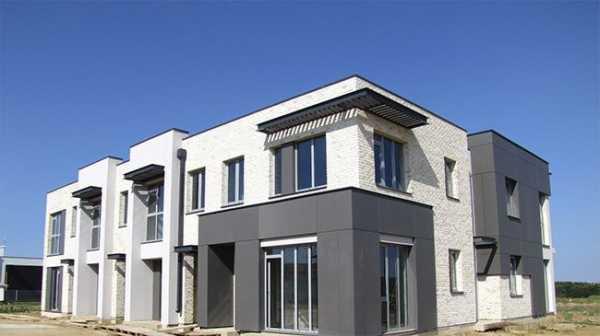 Фиброцементные панели российского производства - лучшие фасады частных домов