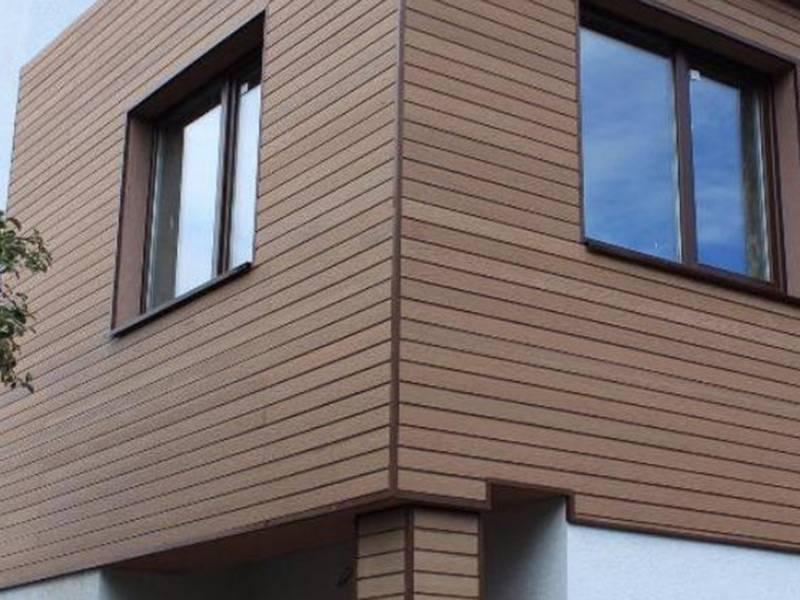 Фасады из дпк – новый взгляд на наружную отделку стен