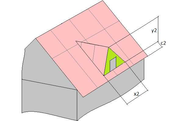 Расчёт двускатной крыши