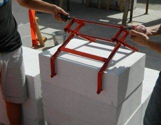 Инструмент для кладки газоблока своими руками. инструмент для газобетона — особенности автоклавного, безавтоклавного производства.тонкости технологии