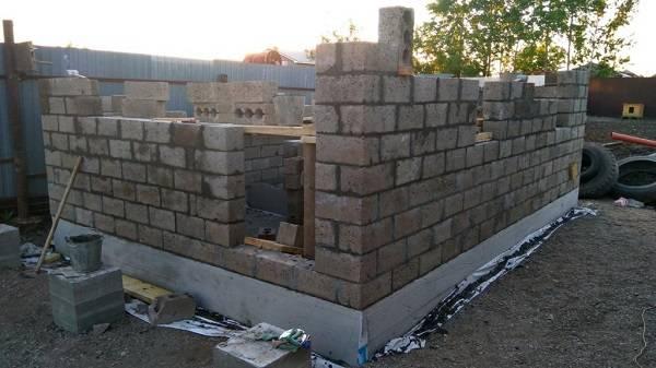 Как определяется толщина стен из керамзитобетонных блоков? - блог о строительстве