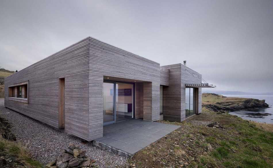 Проекты домов с плоской крышей: современные одноэтажные дома, коттеджи из бруса