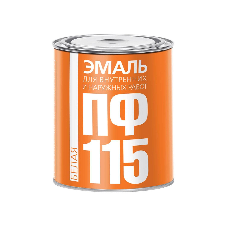 Технические характеристики эмалевой краски пф-115