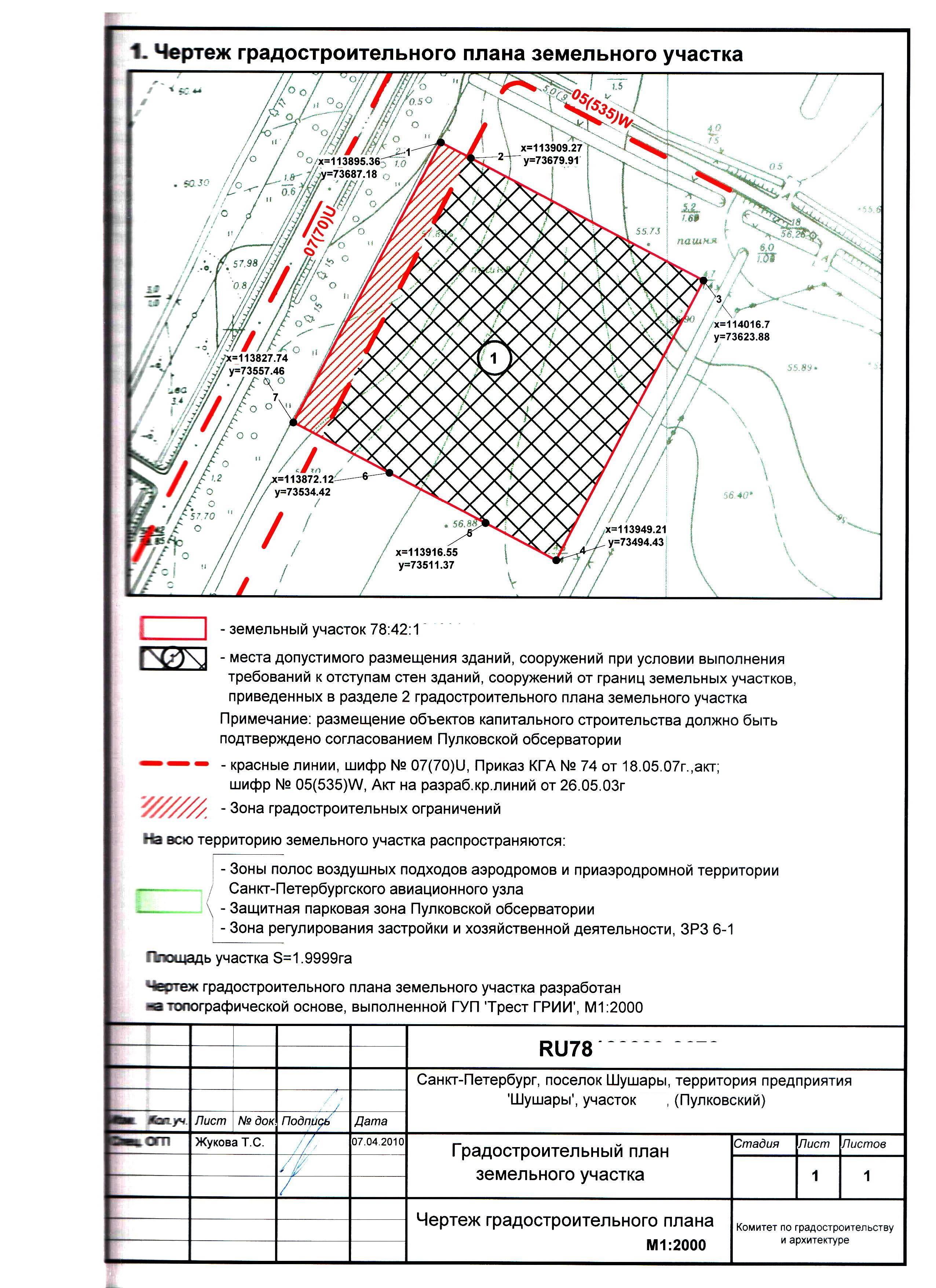 Схема планировочной организации земельного участка — образец 2020 и 2021