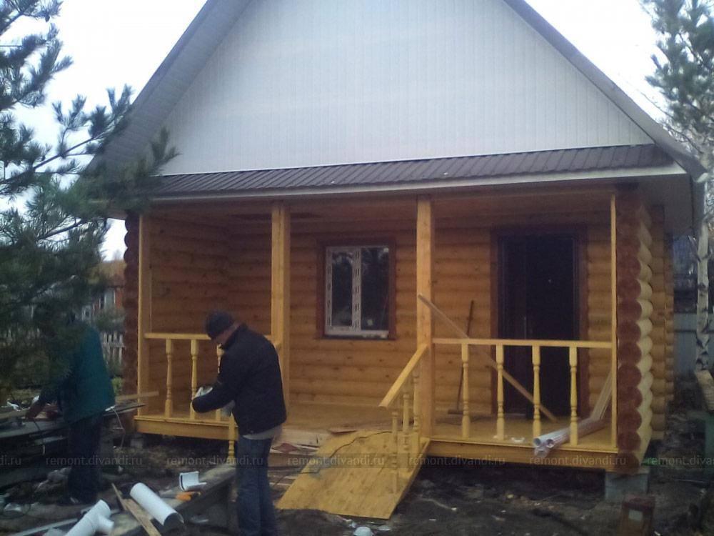 Расчёт дома из бруса