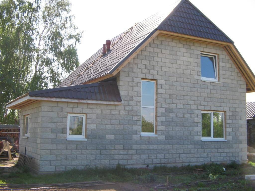 Построить дом из шлакоблока своими руками, изготовление блоков в домашних условиях, строительство коттеджа - инструкция, фото и видео-уроки