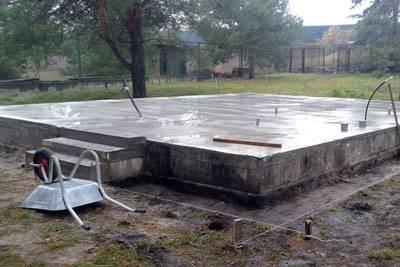 Cтоимость ленточного фундамента для дома 6х9: сколько стоят материалы по регионам россии и цена на укладку основания за кубический метр