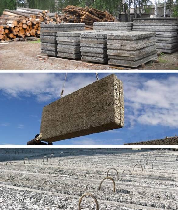 Арболитовые блоки: цена, размеры и основные характеристики