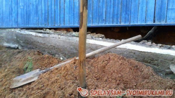 Ремонт и восстановление фундамента дома своими руками