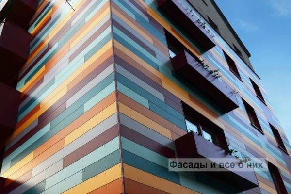 Вентилируемые фасады домов: устройство и монтаж