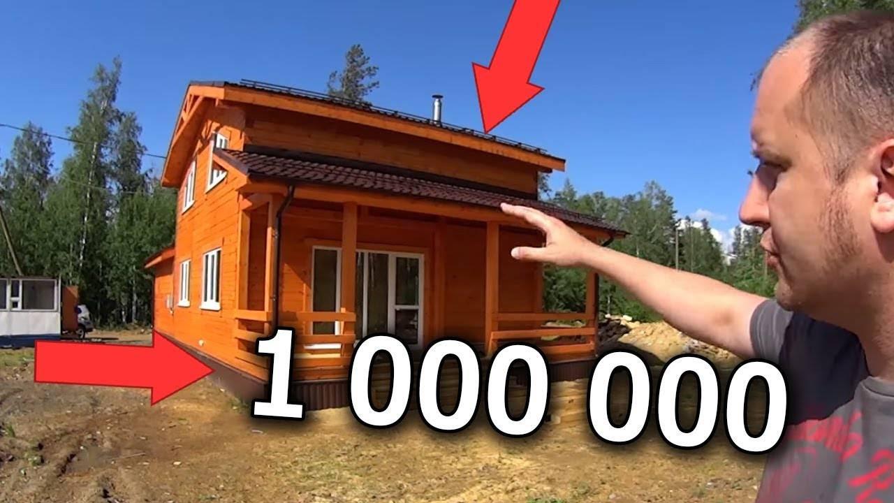 Как построить дом из бруса своими руками?