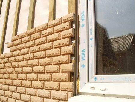 Декоративная фасадная плитка – крепление на стены
