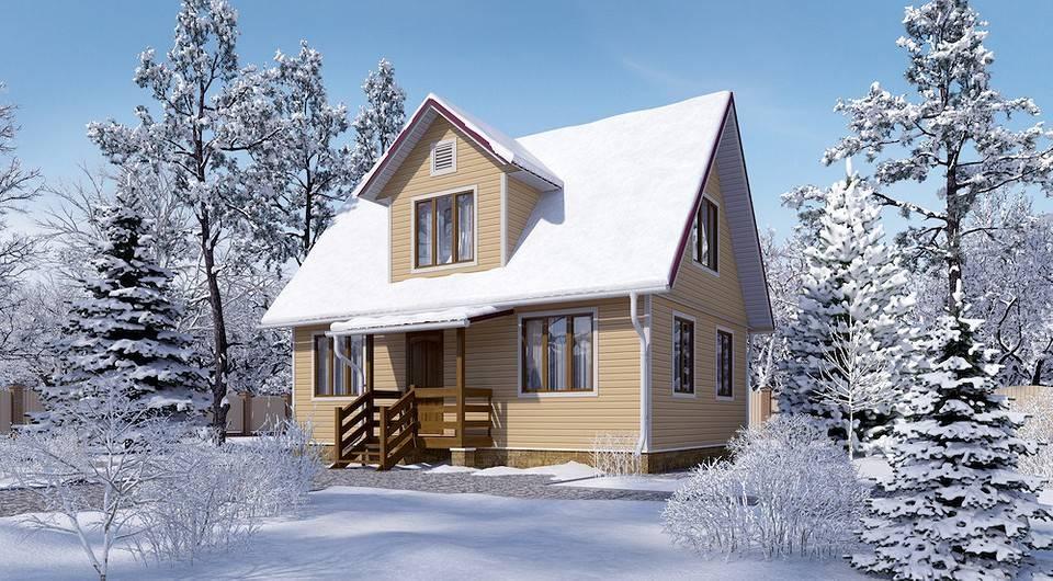 Строительство дома из железобетонных панелей