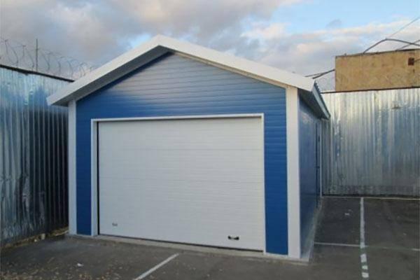 Как построить гараж из sip панелей?