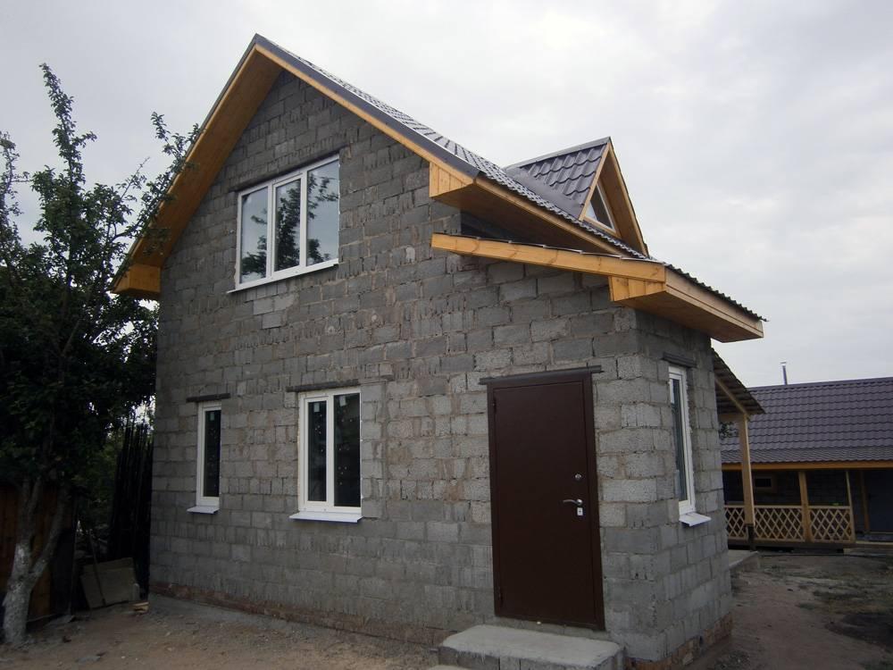 Как сделать утепление дома из керамзитобетонных блоков?