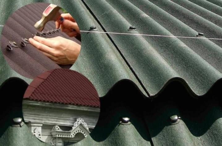Монтаж ондулина (47 фото): шаг обрешетки под ондулин, пошаговая инструкция и технология укладки, покрытие материалом крыши, как крепить гвоздями на новой и старой кровле