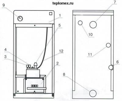 Топ-5 лучших парапетных газовых котлов для отопления + технические характеристики и отзывы покупателей