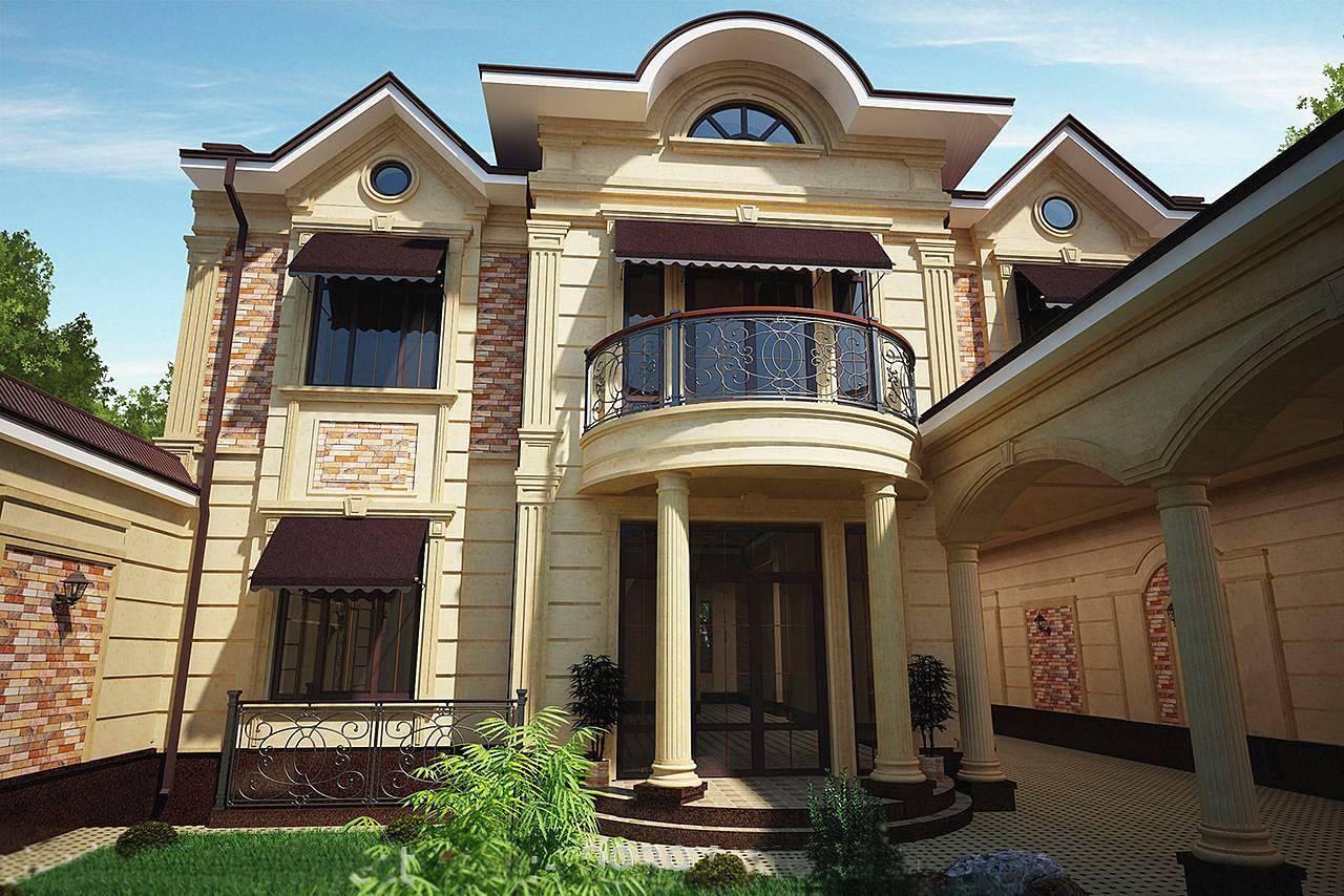 Облицовочный камень для фасада (105 фото): облицовка искусственным фасадным материалом, отделка декоративным камнем