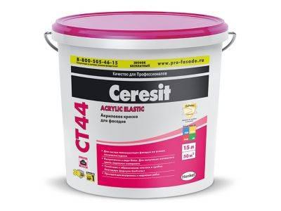 Ct 54. силикатная краска - ceresit