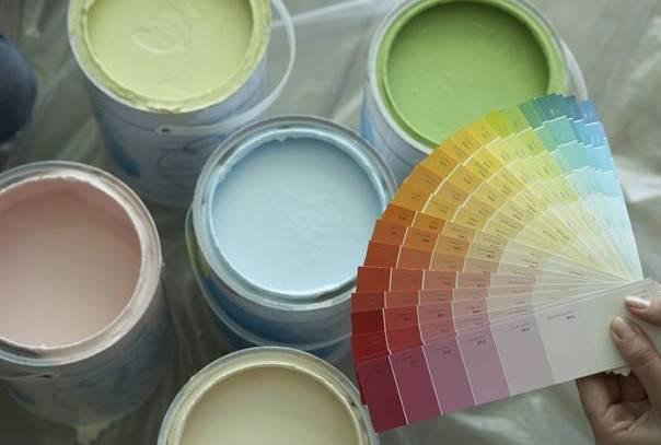 Колер для водоэмульсионной краски: цвета, расход на 1 кг, как развести