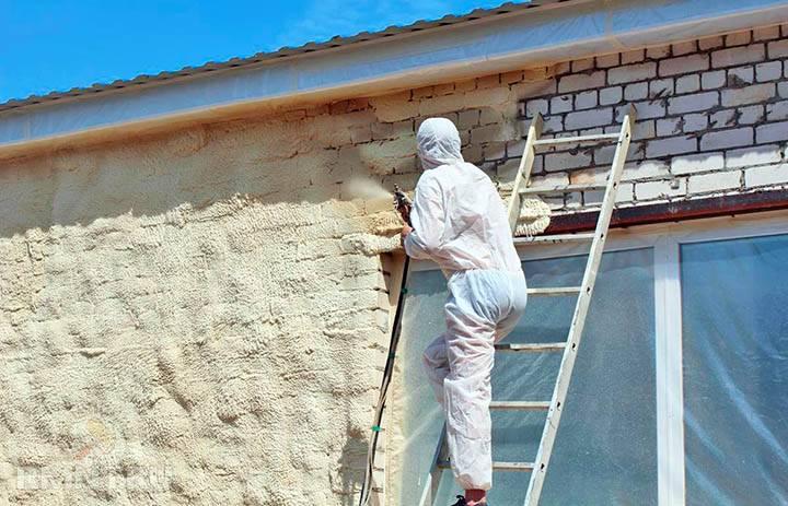 Жидкая теплоизоляция для стен как новый вид утеплителя