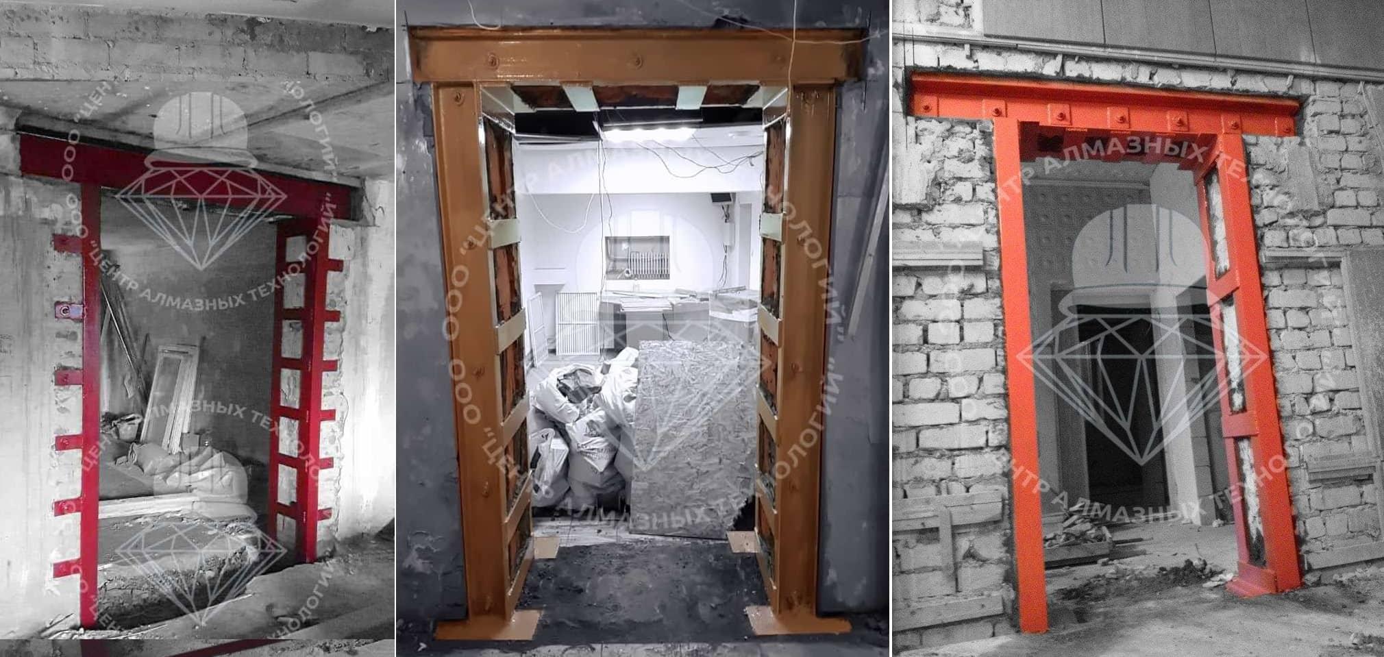 Усиление проема в кирпичной стене дверного или оконного проема: как происходит укрепление, нужно ли разрешение архитектора?
