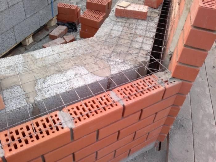 Утепление стен из керамзитобетонных блоков