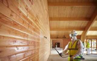 Чем обработать деревянный дом внутри: рекомендации