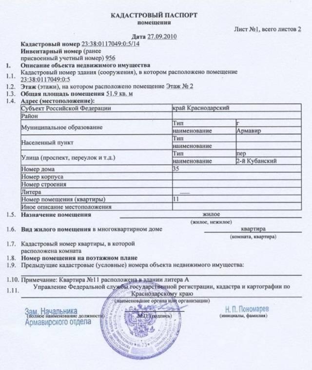 Стоимость и сроки предоставления сведений и егрн (кадастрового паспорта) на земельный участок