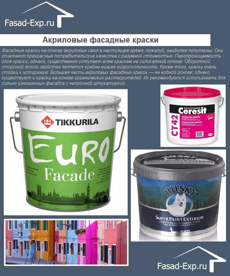 Достоинства и недостатки фасадной латексной краски + технология окраски