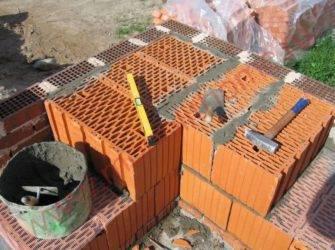 Дом из керамических блоков поризованных крупноформатных - домэконом