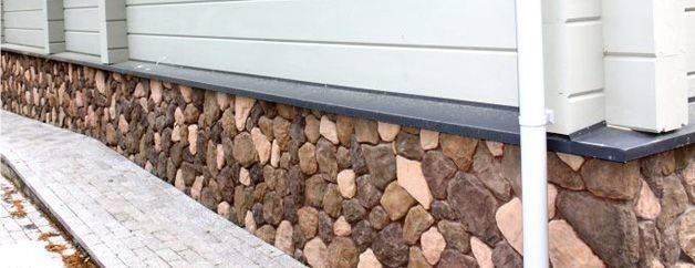 Облицовочный камень для цоколя - инструкция по укладке своими руками