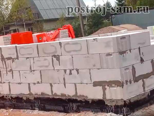 Кладка стен от фундамента из силикатного кирпича в 1 кирпич - строим сами