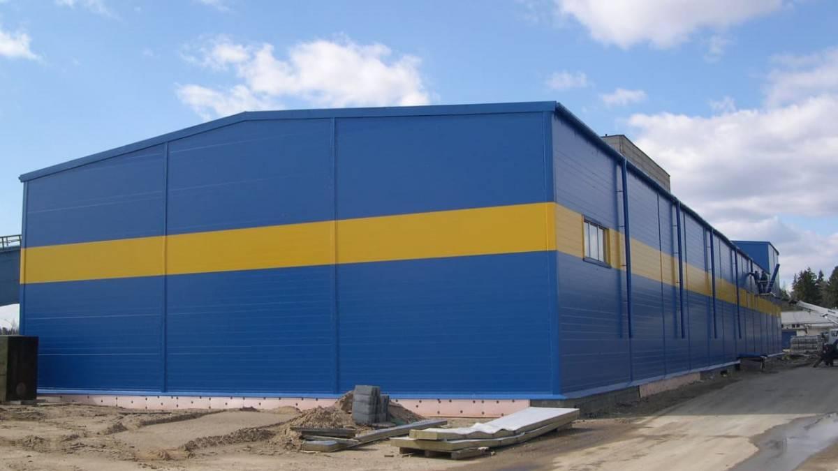 Нюансы строительства производственных зданий из сэндвич-панелей