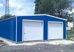 Как построить гараж из сэндвич панелей своими руками под ключ + строительство двухэтажного и распашного гаража