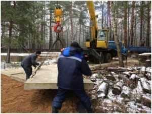Фундамент плита — для домов в сложных климатических условия
