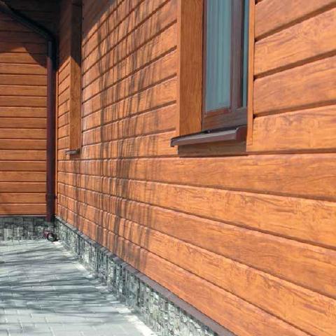 Что представляет из себя виниловый, деревянный и металлический сайдинг блок-хаус и его подробный монтаж