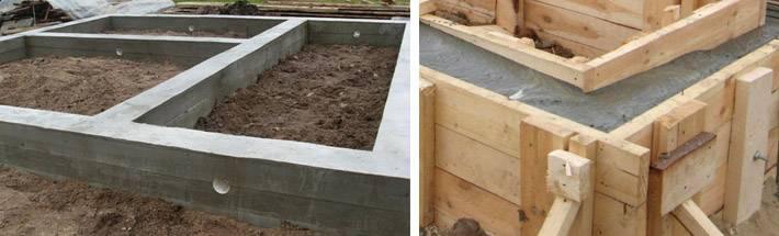 Подробно о столбчато-ленточном фундаменте: из каких материалов возводится и пошаговая инструкция по монтажу