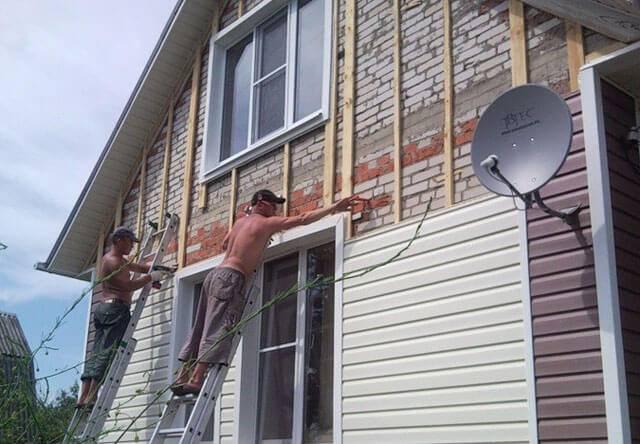 Монтаж фасадных панелей: технология установки обрешетки и отделки фасада своими руками, а также как крепить стартовую планку и профиль
