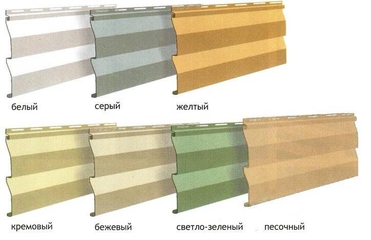 Длина сайдинга: параметры панелей и их комплектующих