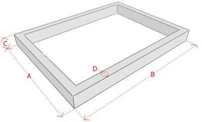 Как рассчитать объем бетона на фундамент