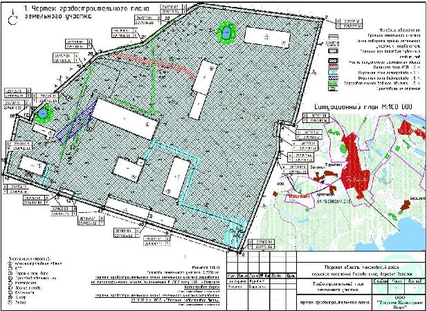 Генплан участка: разработка генерального плана земли, стоимость, образец, чертеж, что это такое и как заказать