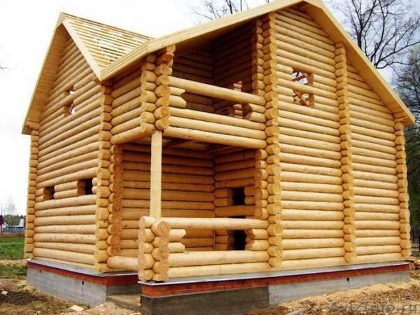 Строительство дома из профилированного бруса своими руками – пошаговая инструкция + фото-видео